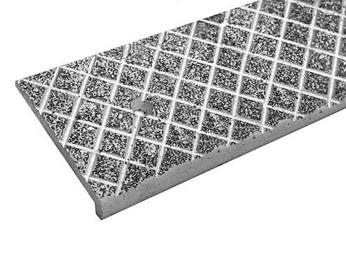 Anti Slip Aluminum Cast Nosings Stair Treads