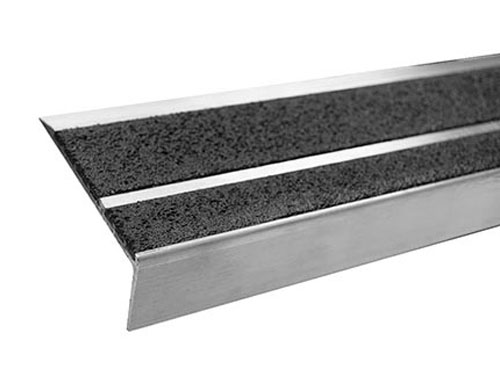 4in Double Cavity Aluminum Stair Tread