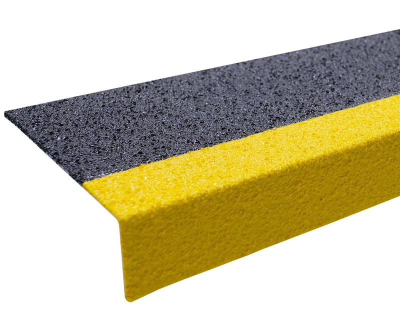 Slip Resistant Grit Coated Step Cover