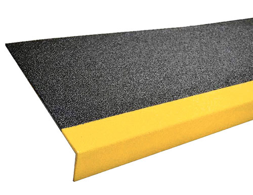 11in Grit Coated Fiberglass Step Cover