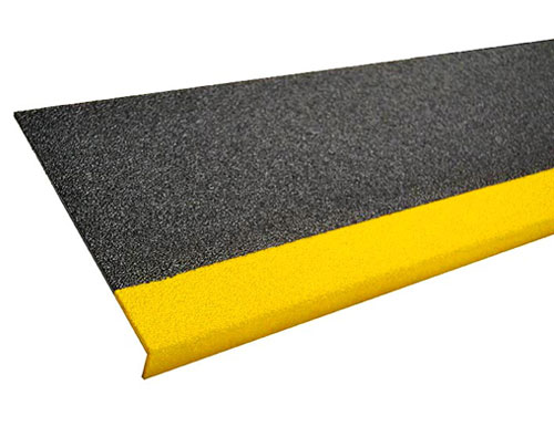 9in Grit Coated Fiberglass Step Cover