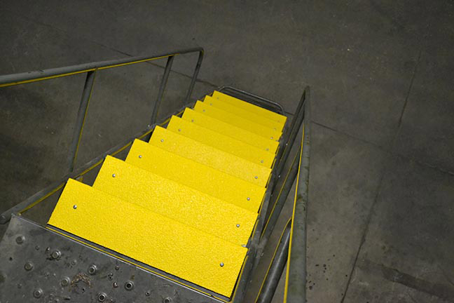 Slip Resistant Fiberglass Step Covers