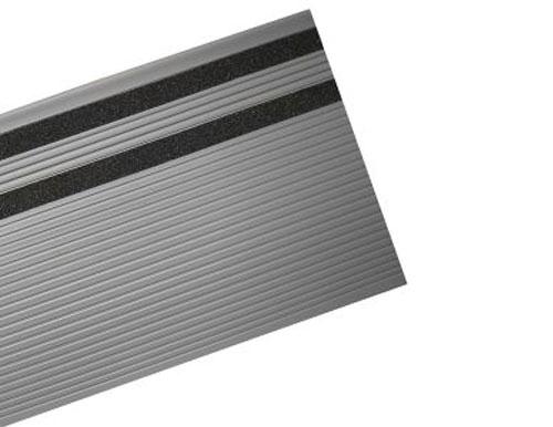 Grey Grit Slip Resistant Vinyl Stair Tread
