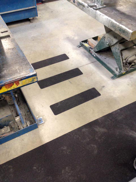 Custom Cut Non-Slip Tape Treads