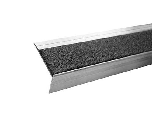 "2.6"" One-Color Single Cavity Aluminum Stair Tread"