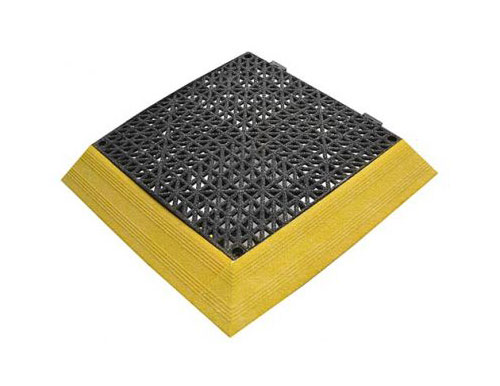 Grit Coated Non-Slip Safety Tile Ramp