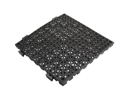 Grit Coated Anti-Slip Safety Tiles