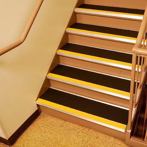 Slip Resistant Aluminum Stair Treads