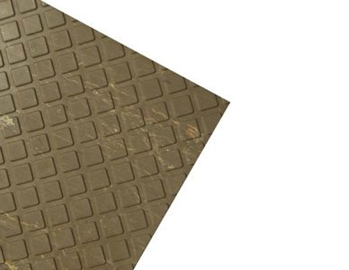 Walnut Heavy Duty Anti-Slip Rubber Tile