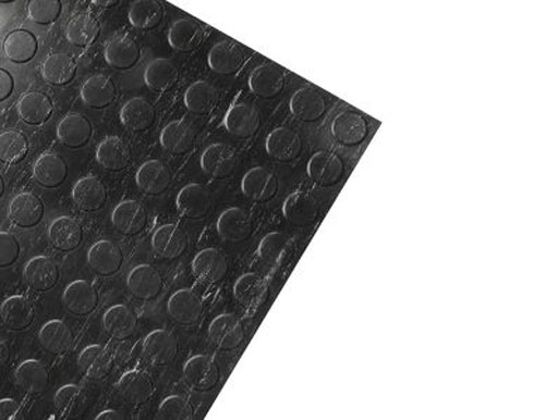 Marble Black Modern Non-Slip Rubber Tile