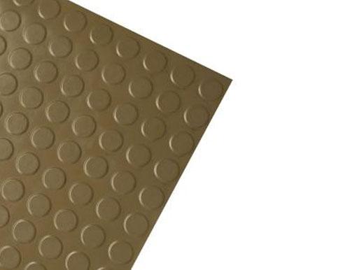 Medium Brown Modern Anti-Slip Rubber Tile
