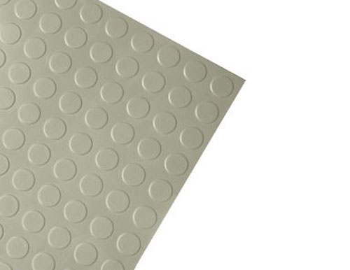 Medium Grey Modern Anti-Slip Rubber Tile