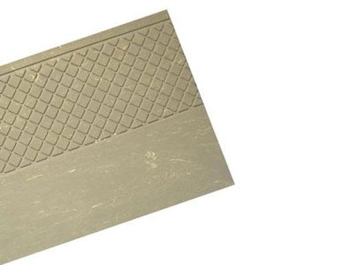Light Grey Heavy Duty Anti-Slip Rubber Stair Tread