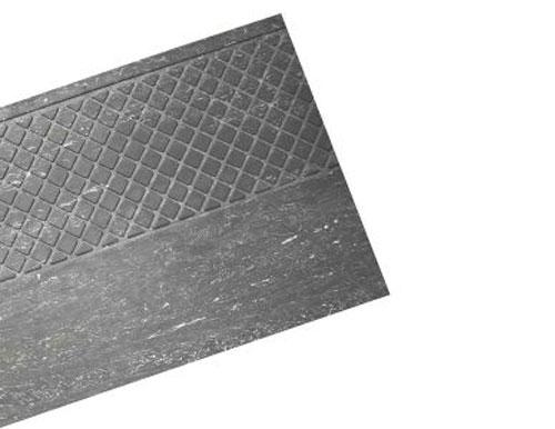Slate Grey Heavy Duty Slip Resistant Rubber Stair Tread