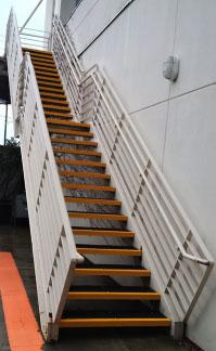 Anti-Slip Fiberglass Step Covers