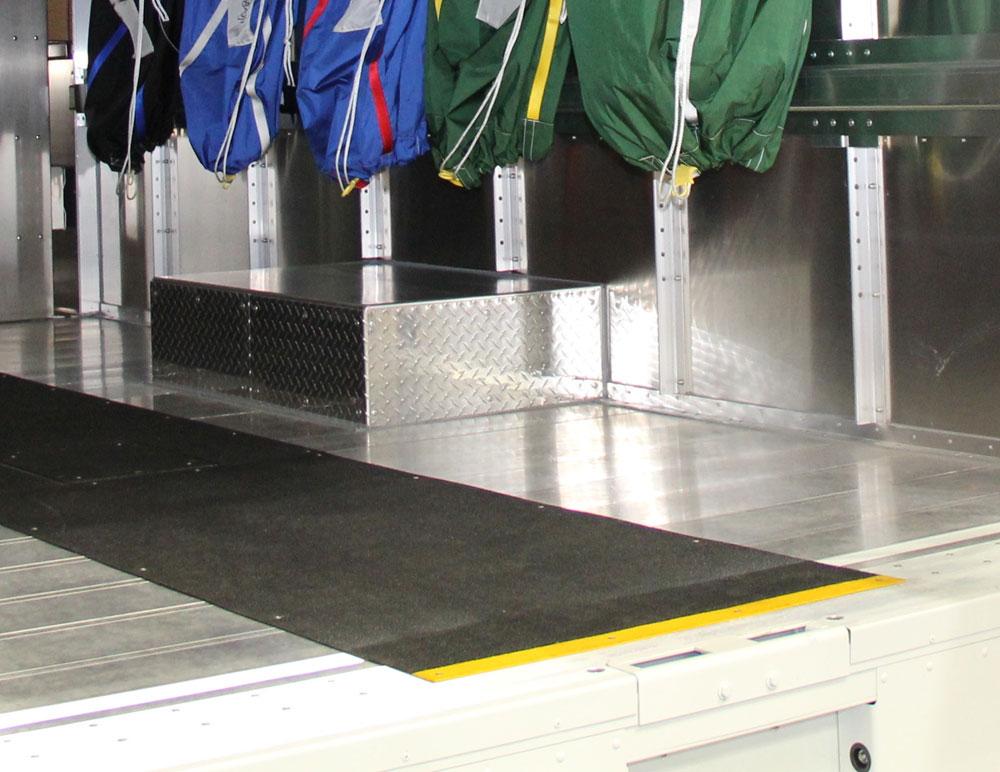 Truck Walkway Panel Application