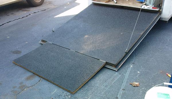 Non-Flip Fiberglass Panel for Transportation